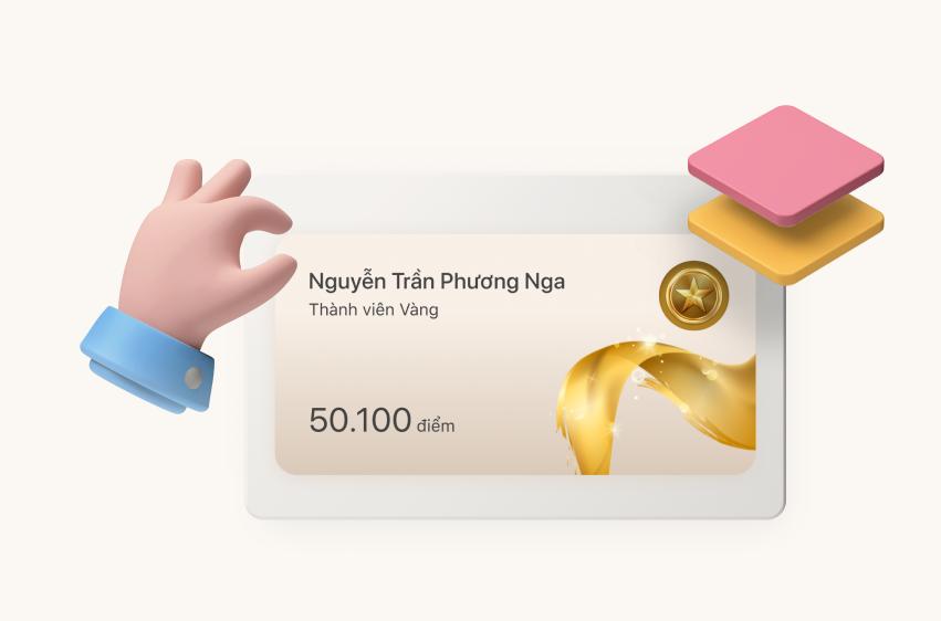 Thông báo quyền lợi Chuyển đổi mới của thành viên hạng Vàng