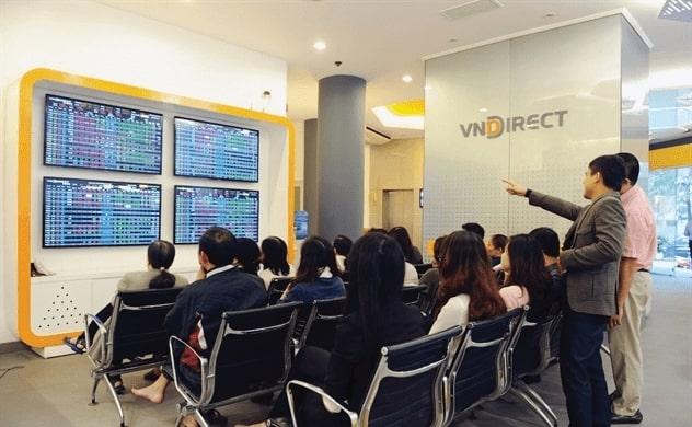 Mở tài khoản chứng khoán cơ sở VNDirect